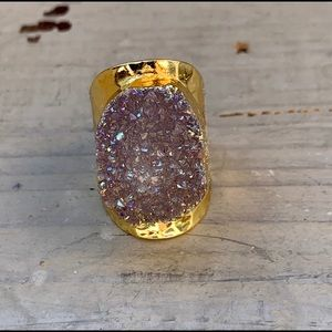 Beautiful Druzy Ring